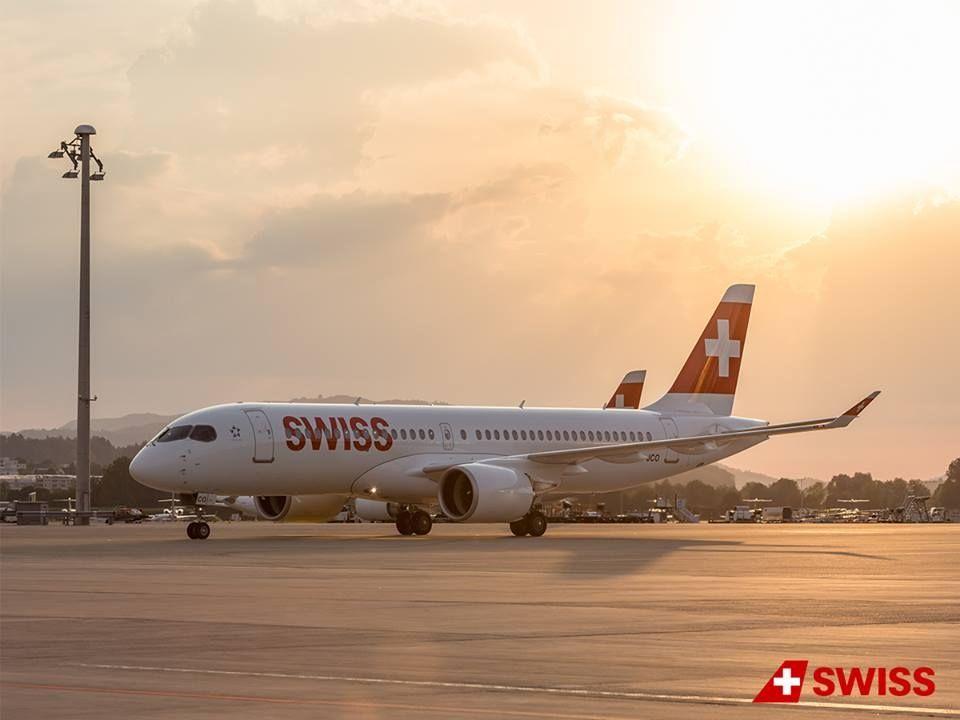 民航早报:瑞士航空临时停飞A220进行发动机检查
