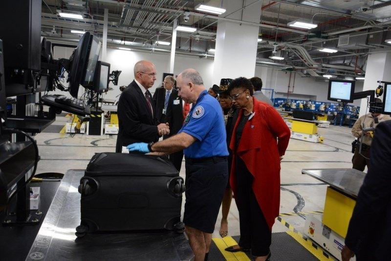 迈阿密机场新行李处理系统大大提升行李处理效率