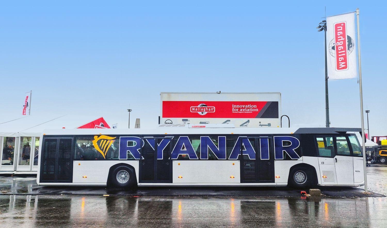 全球最大的机场摆渡车来了!可载客125人