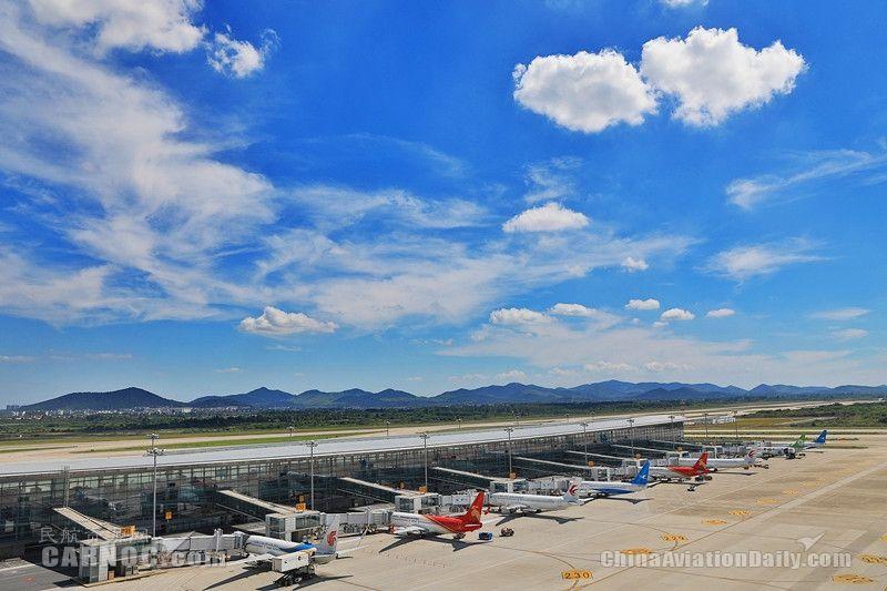 南京禄口机场冬春航季新增、加密多条航线