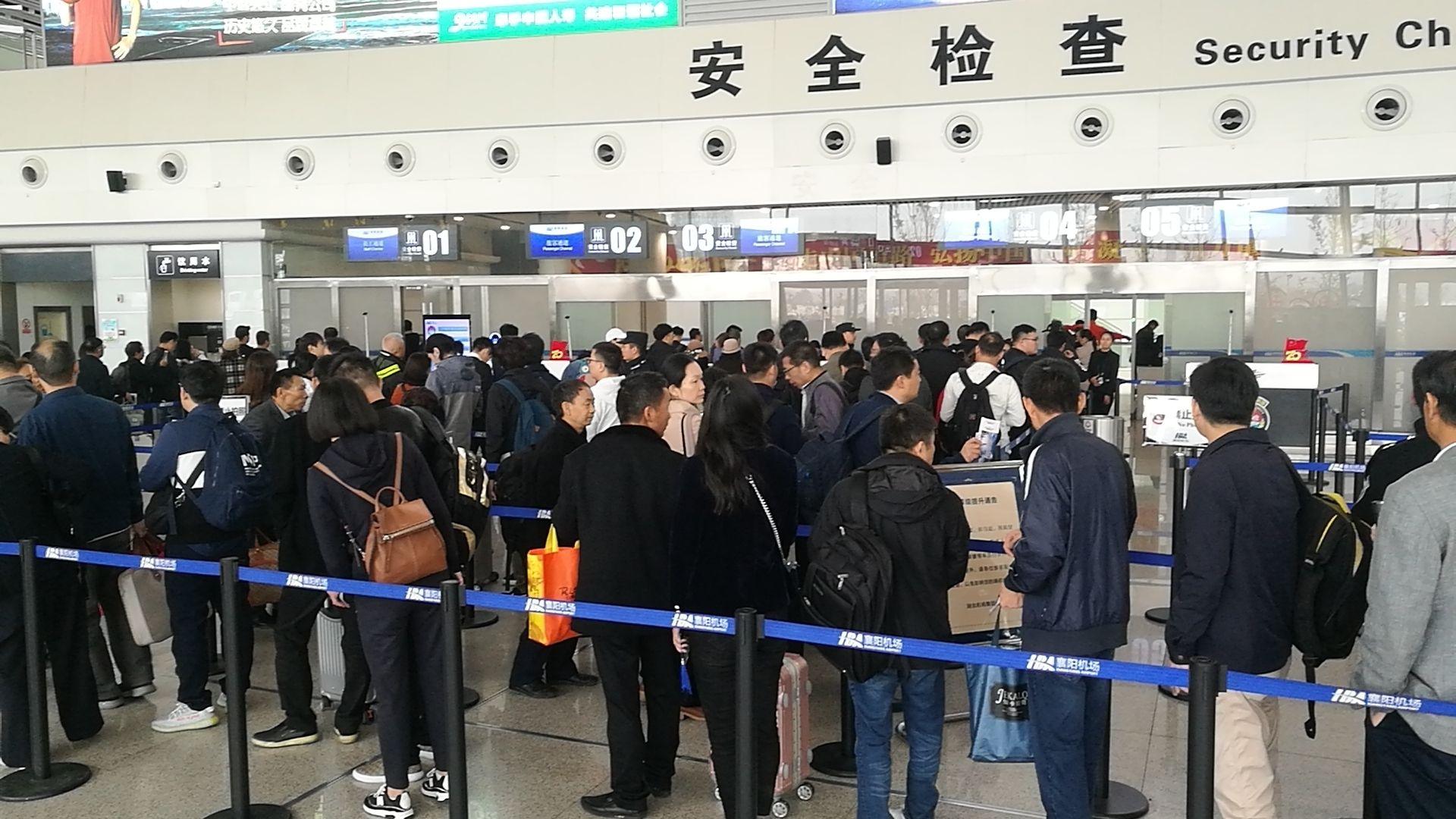 襄阳机场冬春换季 航线更方便、舒适、快捷