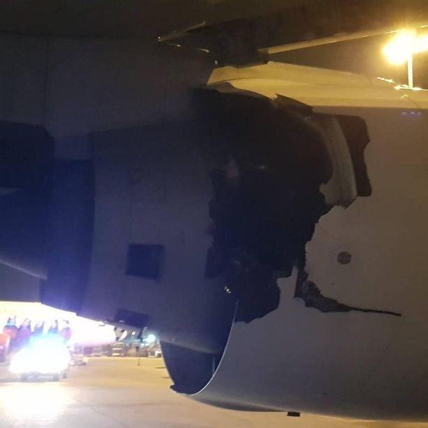 视频:吓坏乘客!泰航777客机起飞前传巨大爆炸声