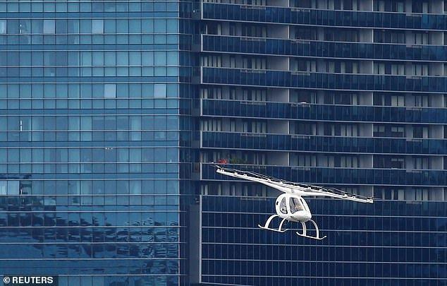 volocopter空中出租车