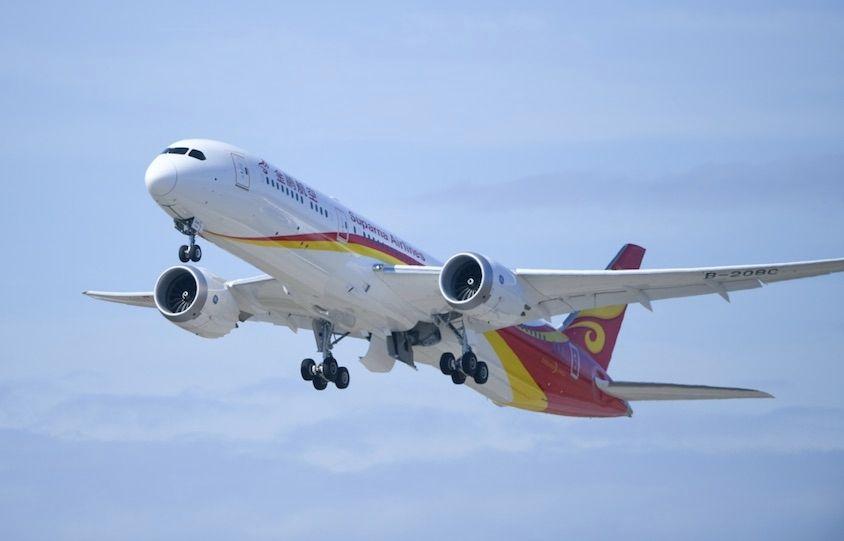 """金鹏航空787-9梦想客机将执飞""""南京=深圳""""航线"""