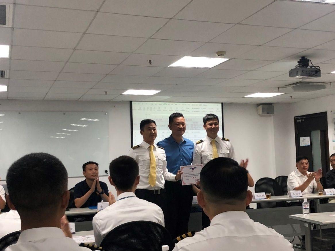 福航获民航福建、厦门监管局工匠精神飞行技能竞赛第一名