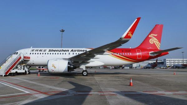 深航迎来第5架A320NEO 机队规模达210架