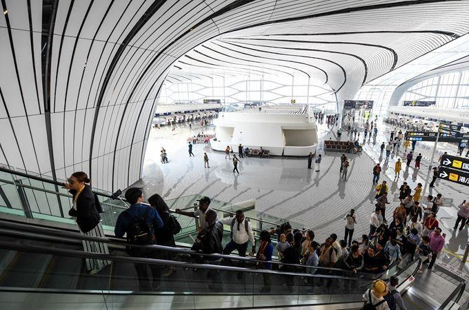"""大興機場""""滿月"""",輸送旅客約41.48萬人次,滿意度超98%"""