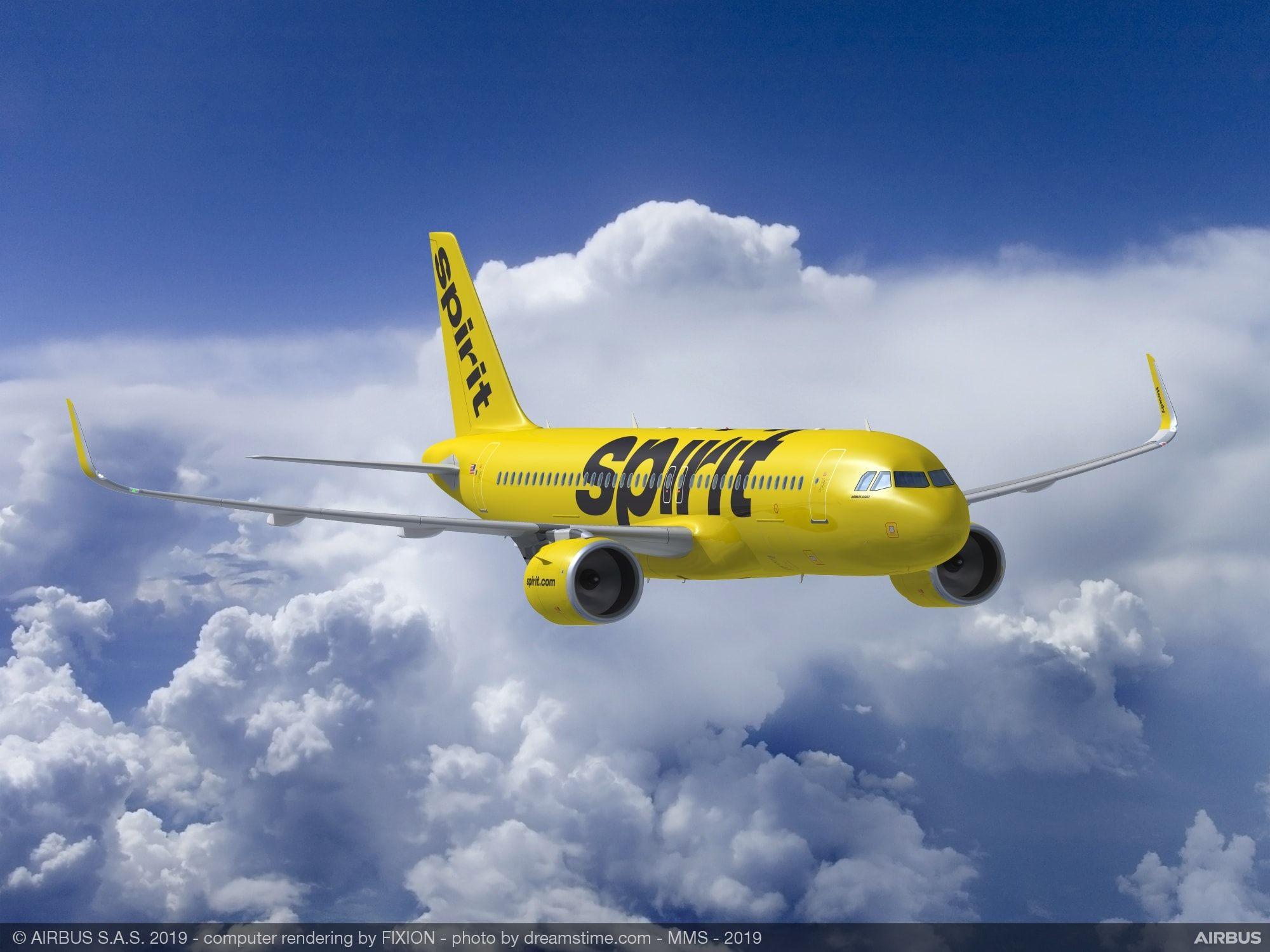 精神航空订购100架空客A320neo系列飞机