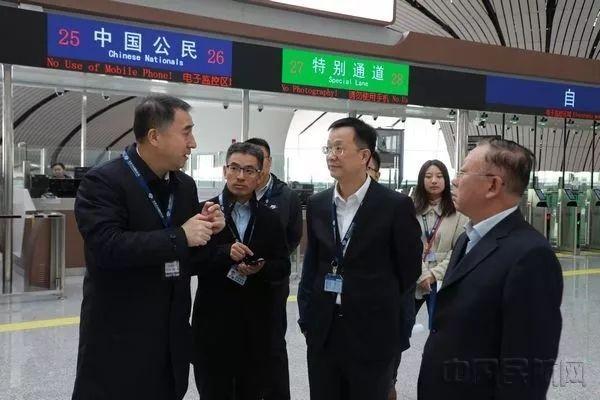 董志毅赴大兴机场督导检查航班运行和换季转场准备工作