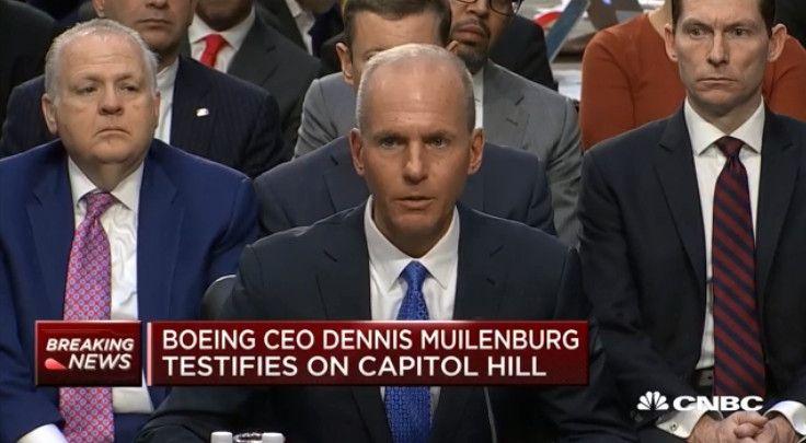 波音CEO出席听证会 就737MAX安全缺陷接受质询