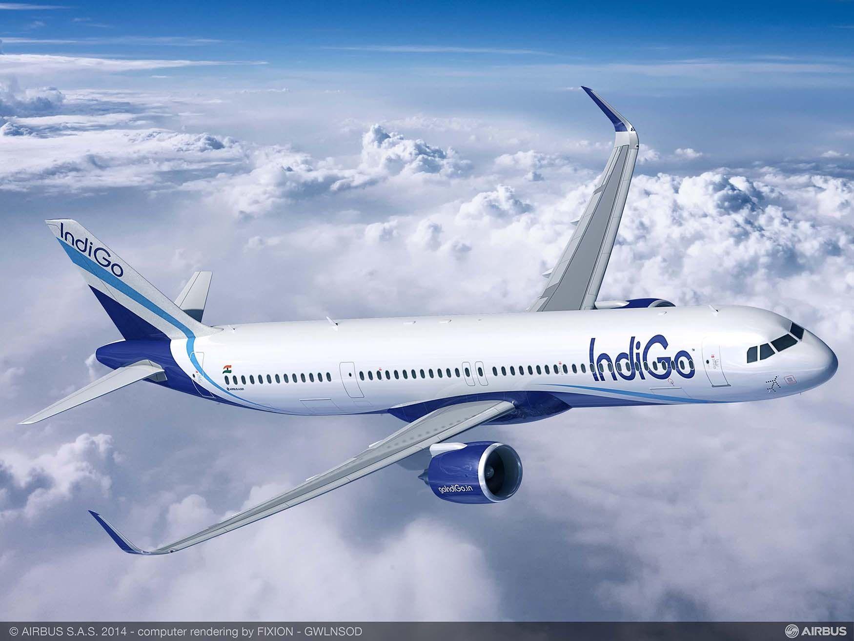 印度靛蓝航空订购300架空客A320neo系列飞机