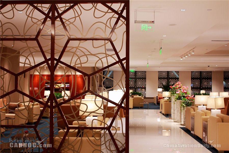 阿联酋航空浦东机场专属贵宾室重装开业 翻新投入达300万美元