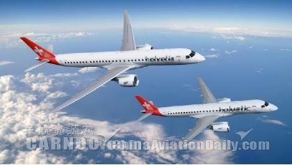 海尔维航空接收首架E190-E2飞机