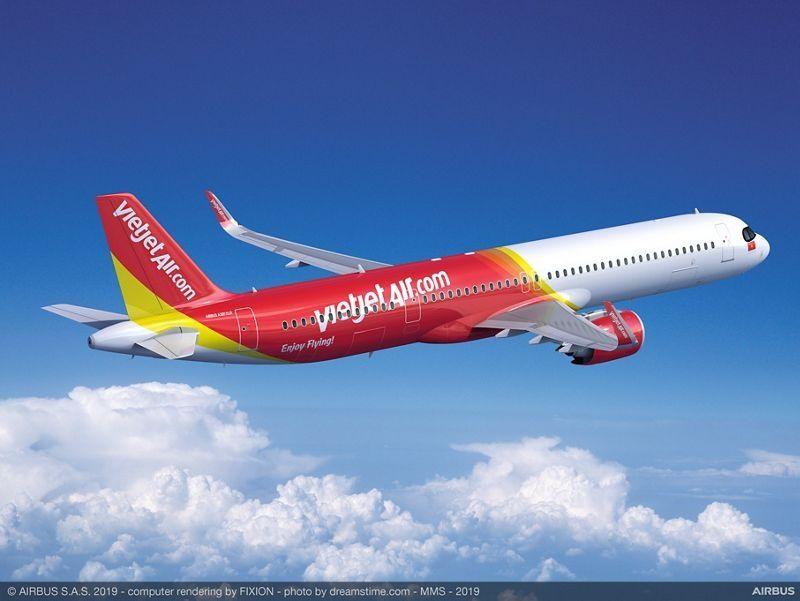 民航早报:越捷航空订购20架空客A321XLR飞机