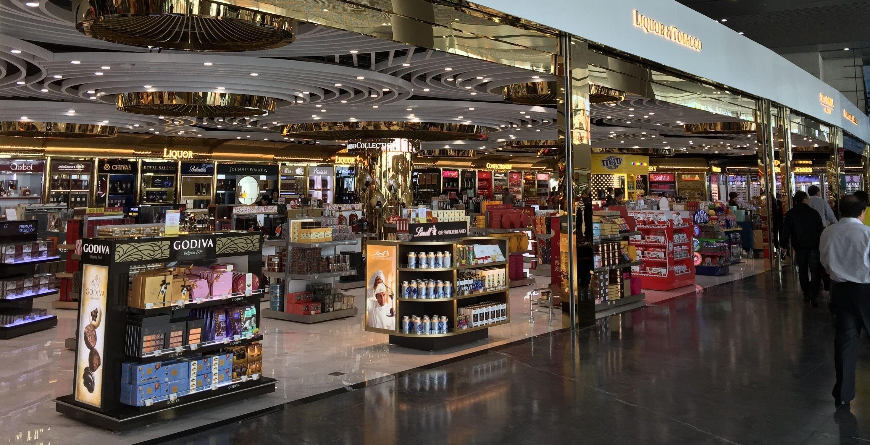 澳门机场新免税零售店经营商进驻候机楼离境层北翼