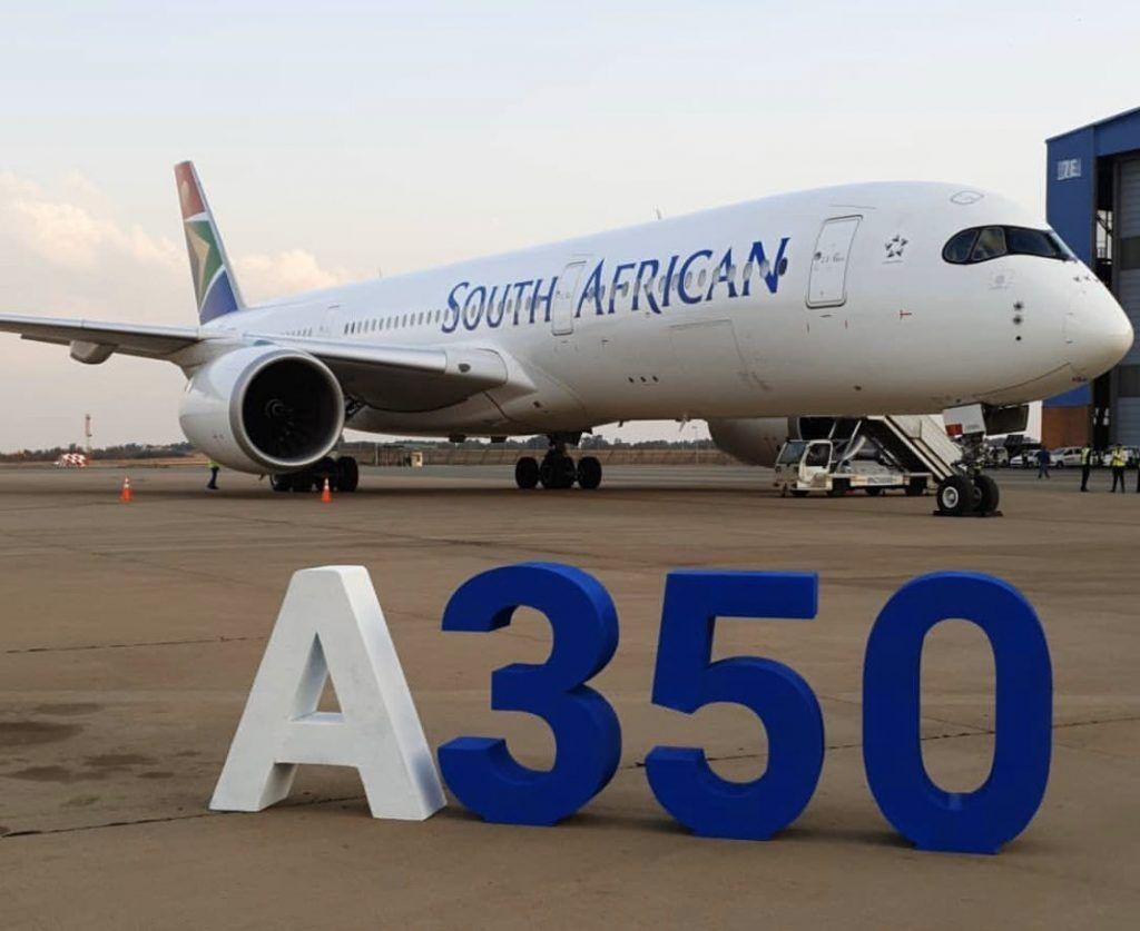 南非航空接收第一架A350 转租自海航