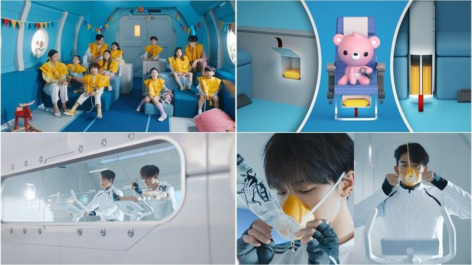 大韩航空×SuperM携手打造K-POP风格飞行安全视频