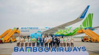 竹子航空首架A320neo彩绘亮相