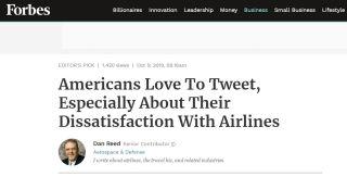 美国航司推特口碑PK!最差的竟是它