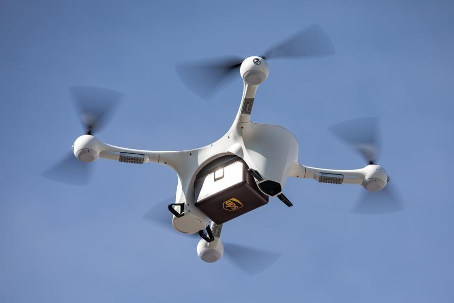UPS无人机完成首例处方药快递到家服务