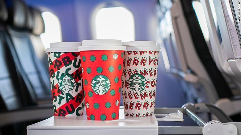 星巴克假日杯持有者 乘阿拉斯加航空可优先登机