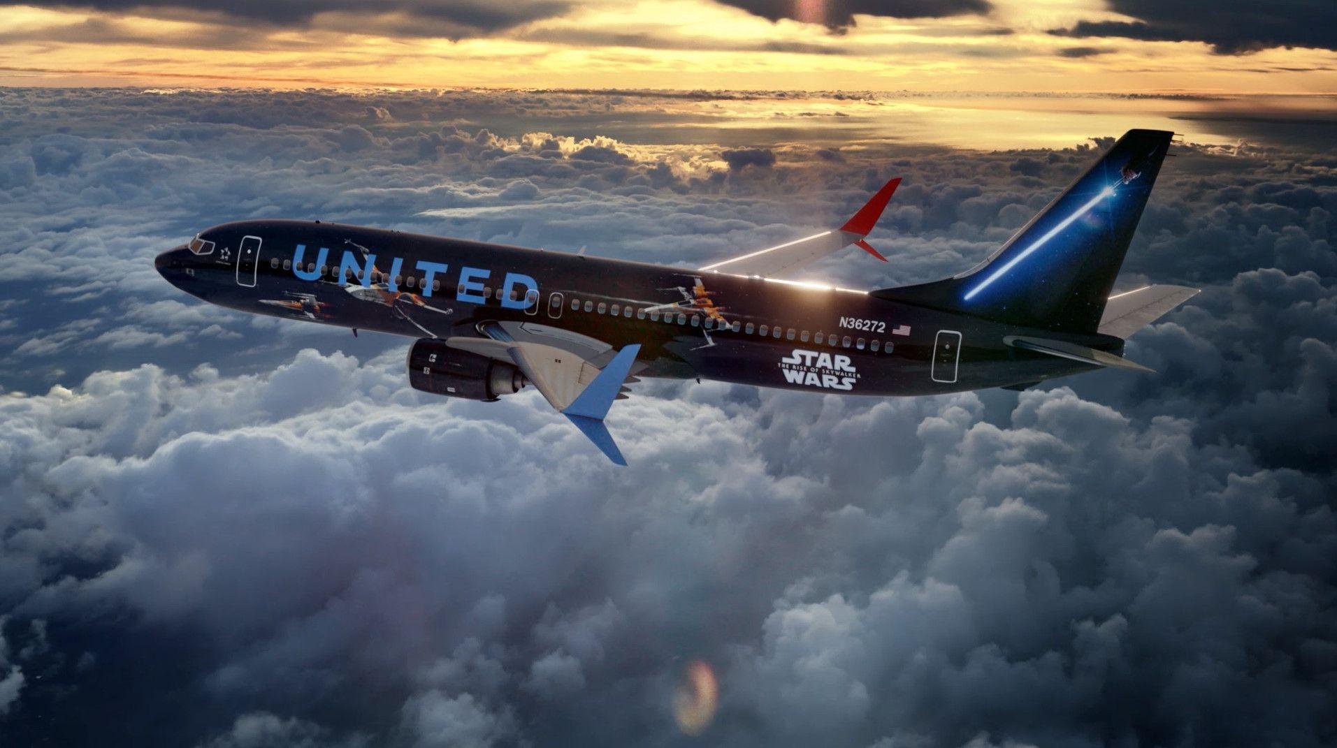 美联航×《星球大战9》 打造不一样的飞行主题体验