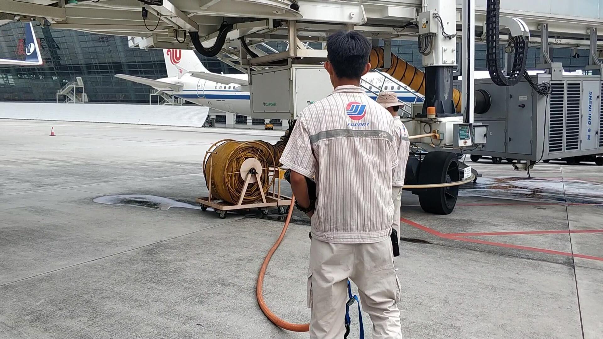 打赢蓝天保卫战,元翔厦门空港APU替代设施使用率稳步提升