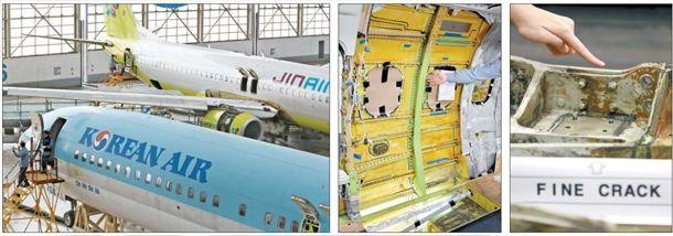 又停飞2架 韩国13架737NG出现机体裂纹