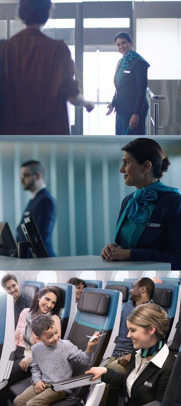 西捷航空创意广告