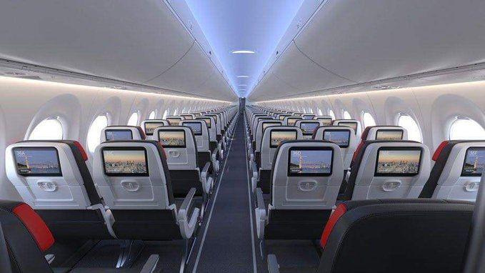 加拿大航空首架A220