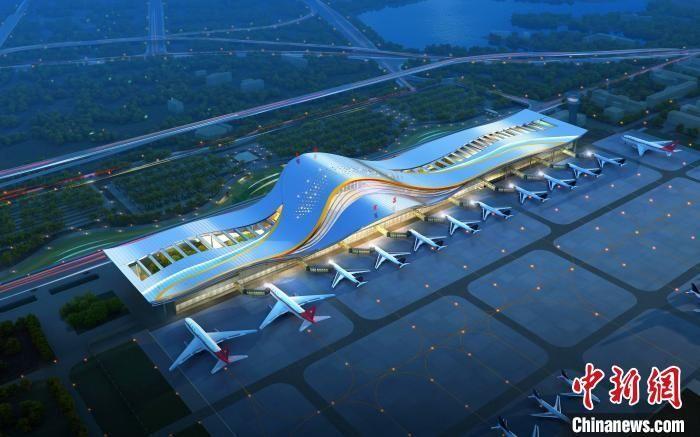 三峡机场T2航站楼开建 推动三峡临空经济区发展