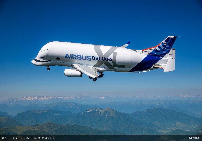 """空客""""超级大白鲸""""运输机获EASA型号认证"""