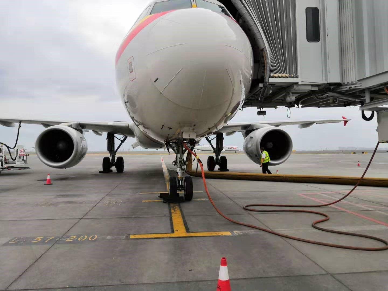 捍卫蓝天,天津航空新疆分公司在行动