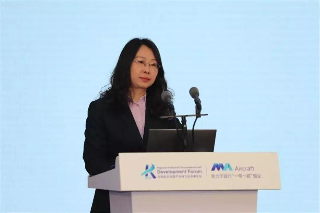 中国航空工业发展研究中心副主任 黄毓敏 摄影:西飞民机 夏毅