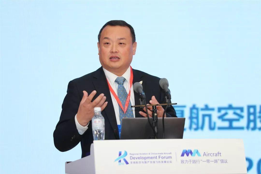 华夏航空CEO 吴龙江 摄影:西飞民机 夏毅