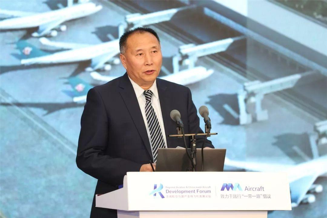 新疆机场集团党委书记、董事长 张军 摄影:西飞民机 夏毅