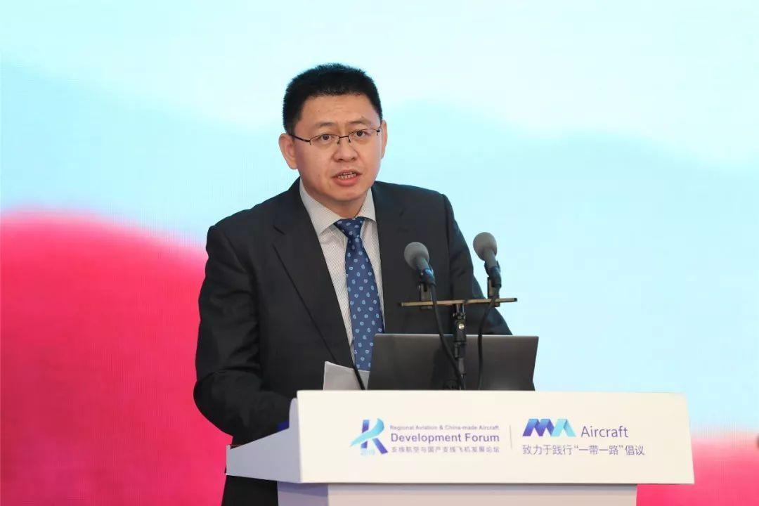中国进出口银行交运融资部副处长 贾儒楠 摄影:西飞民机 夏毅