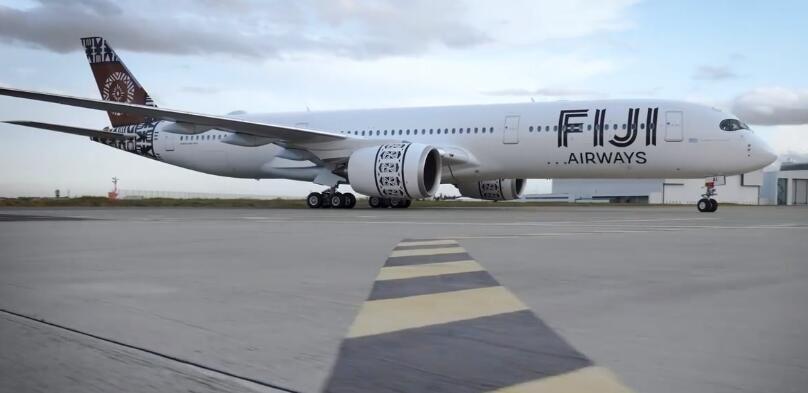 视频:斐济航空接收其首架A350XWB宽体飞机