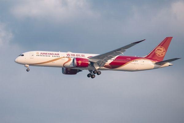 吉祥航空12月运输旅客同比增长7.83%