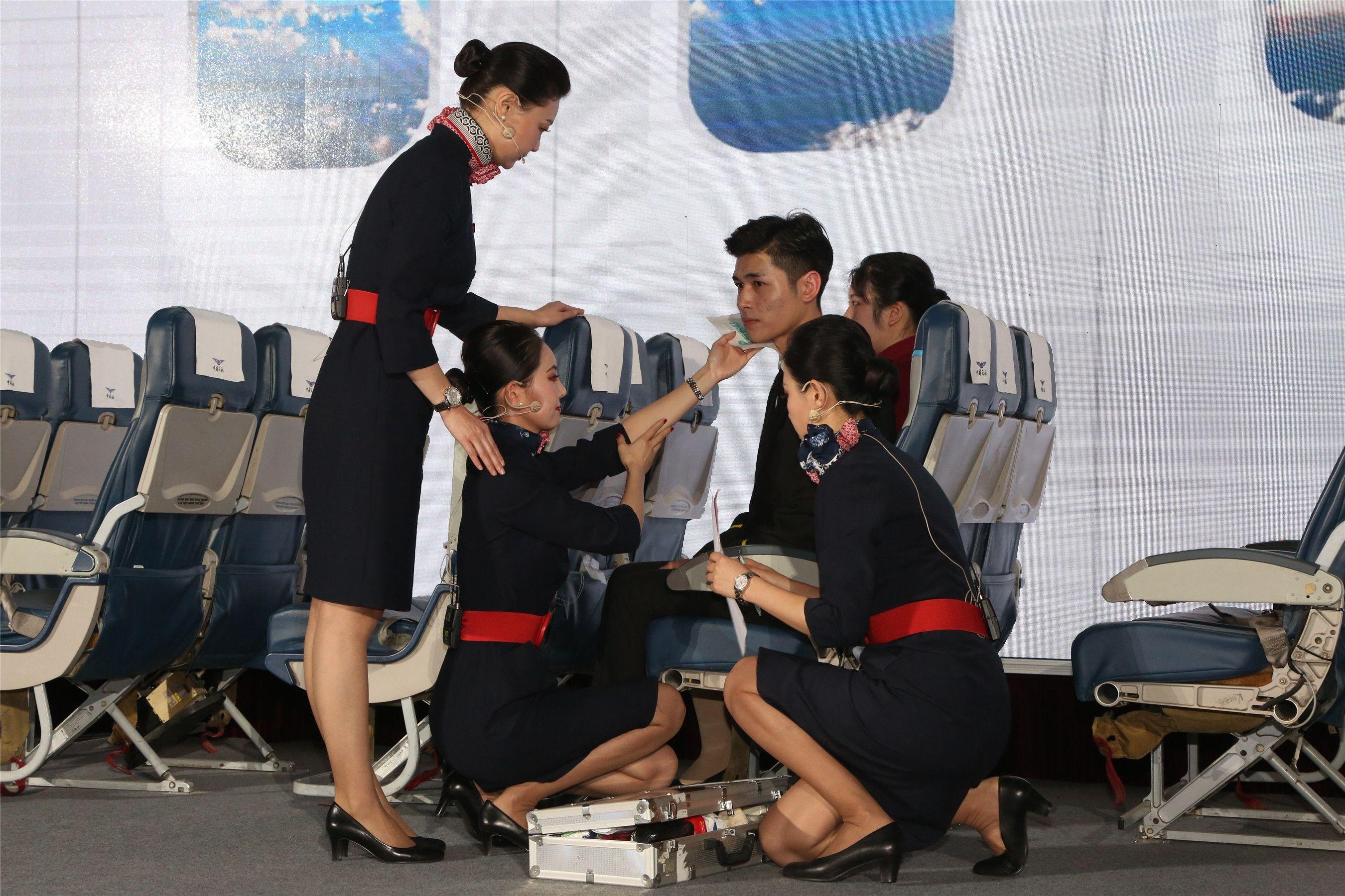 西北地区首次航空服务技能大赛在西咸新区空港新城举办