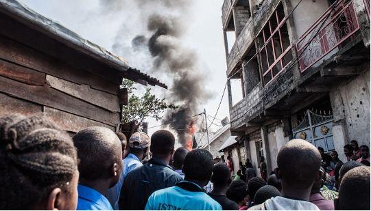 一架飞机在刚果(金)失事 已致25人死亡