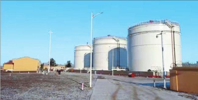 哈尔滨机场扩建供油工程竣工