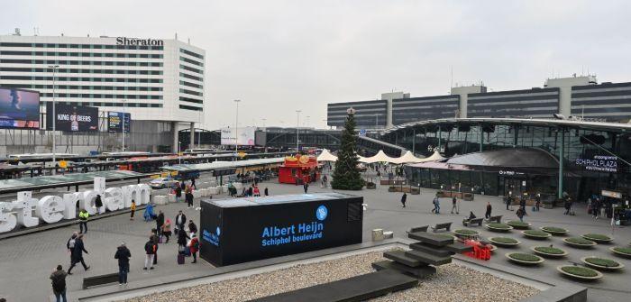 荷兰连锁超市AlbertHeijn在史基浦机场开设了数字商店