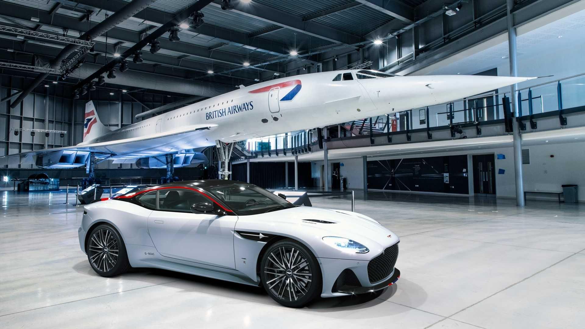 英国航空将联手阿斯顿·马丁推出超音速跑车,限量10辆