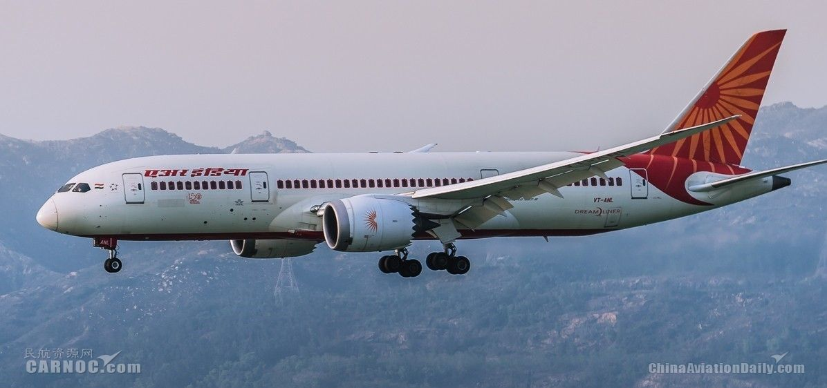 民航早報:印度考慮放寬對外資控股印度航司限制