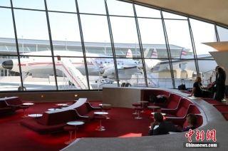 纽约肯尼迪机场废旧航站楼改建为怀旧主题酒店
