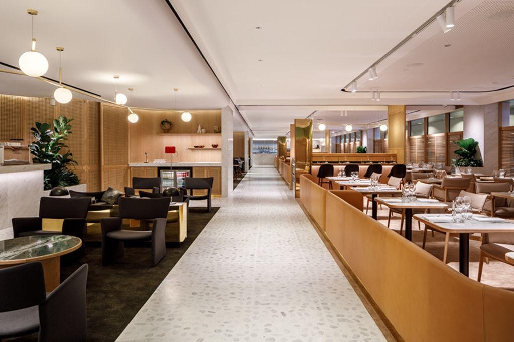 澳洲航空樟宜机场头等舱贵宾休息室华丽开幕