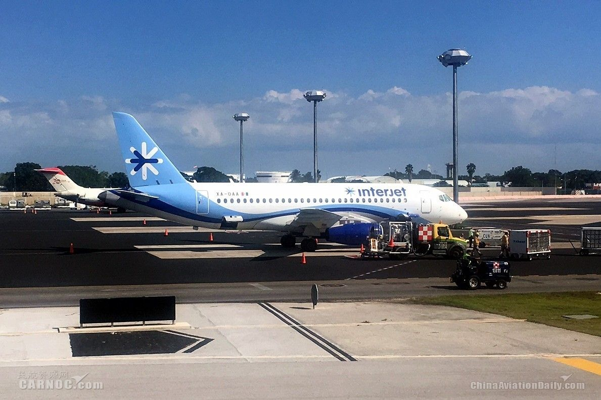 Interjet航空拟出售其SSJ100