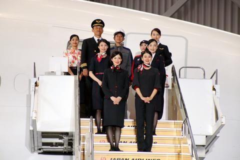 超6成空姐遭偷拍 日本航空引入裤装制服