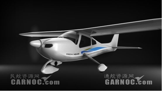 国内首款全玻纤复材四座固定翼飞机完成静力测试